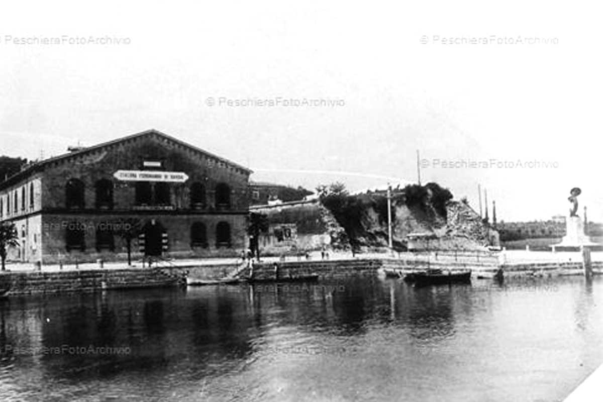 The ancient port of Peschiera